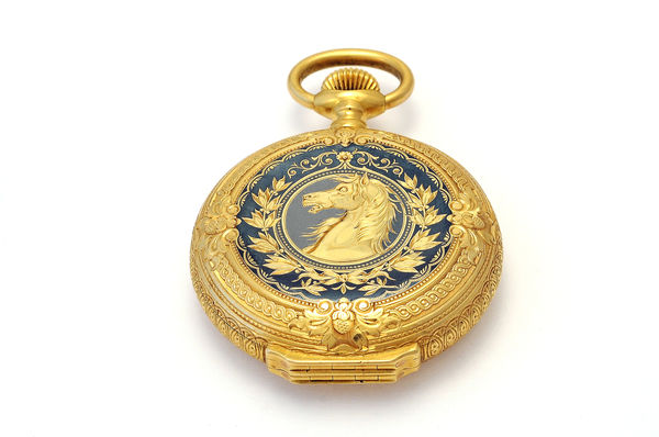 Ludwig II's gold pocket watch